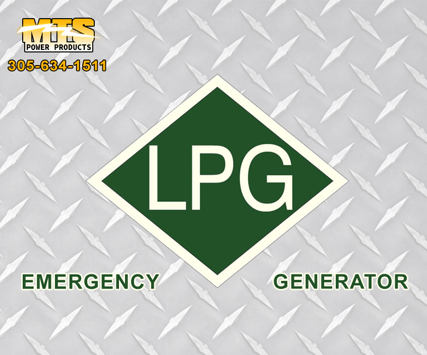 LPG Emergency Generators