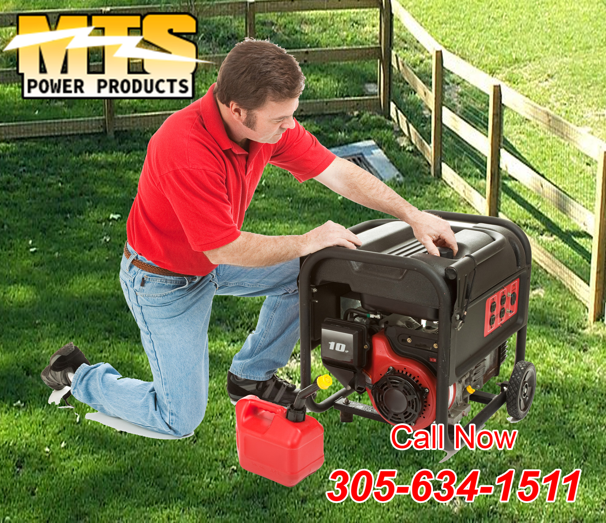 Portable Generator vs mercial MTS Power Products