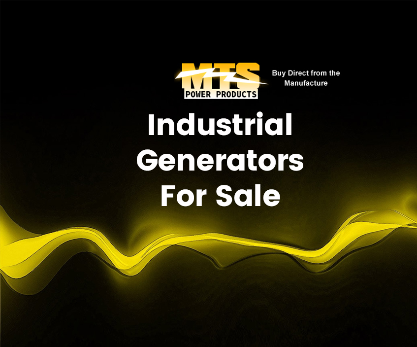 Industrial Generators For Sale