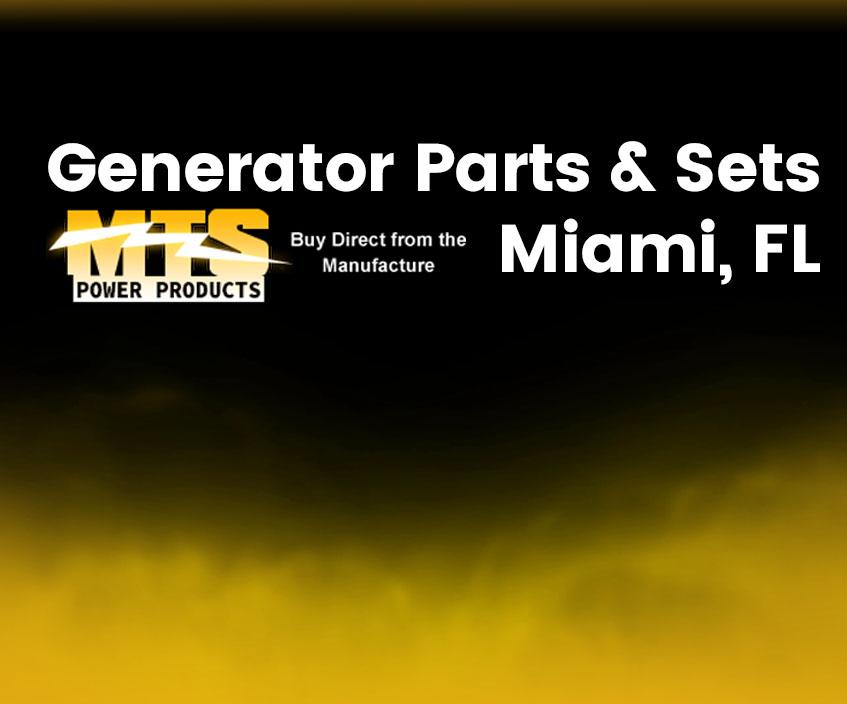 Generator Parts Miami