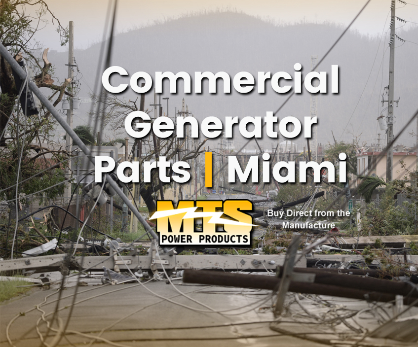 Commercial Generator Parts Miami
