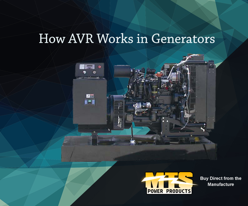 How AVR Works in Generators
