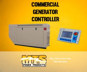 Commercial Generator Controller
