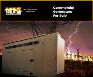 Commercial Generators For Sale