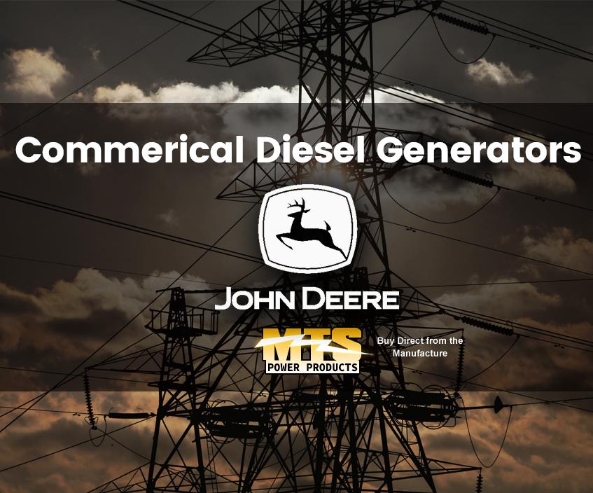 John Deere Commercial Diesel Generators