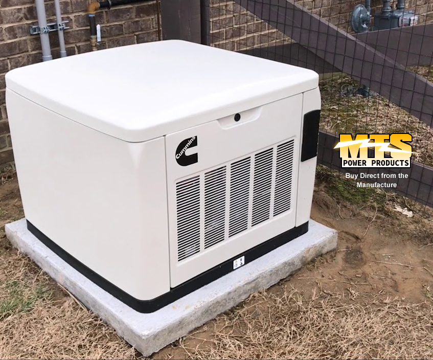Natural Gas Generator Installation
