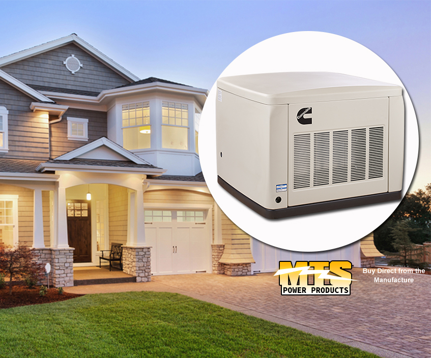 Natural Gas Home Backup Generator