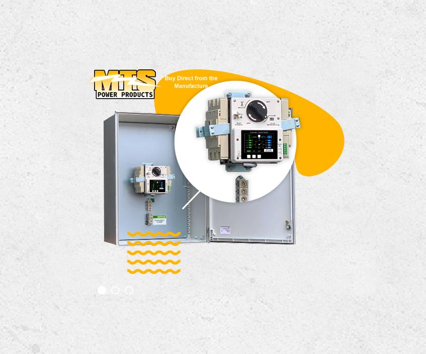 Generator Automatic Transfer Switch 3p